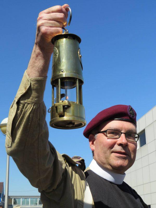 Eccles Mining Lamp